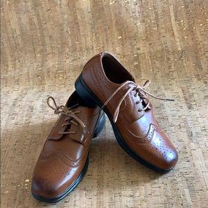 Deer Stag Comfort Wingtip Oxford Dress Shoes. Sz 3